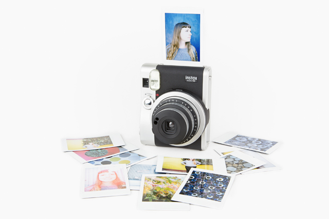 High on my wish-list: the Instax mini 90 camera