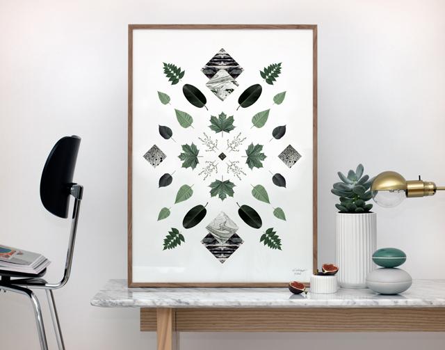 Art print Flora No. 2 by Kristina Krogh