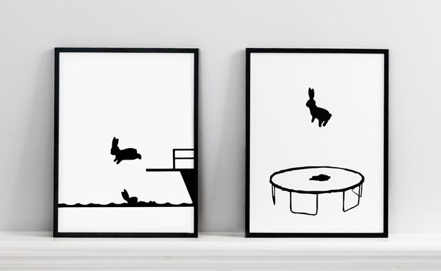 HAM prints by Jo Robinson