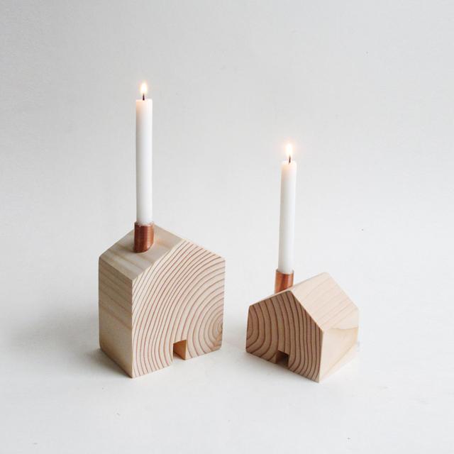 Homestead candlesticks by Giraffe.com