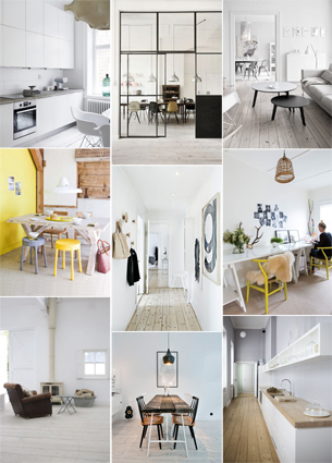 Hurray! Together with my boyfriend I've just signed the contract for our new – yet to be build – house. Ever since we signed the contract I've been browsing pinterest for ideas. I've made a moodboard – let me know what you think!