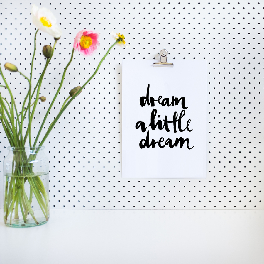 Remember this print Dream A Little Dream? Check out my Things I Loved #week24 post!