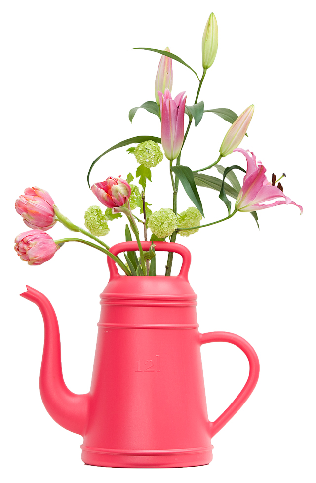 Watering can Lungo (pink)