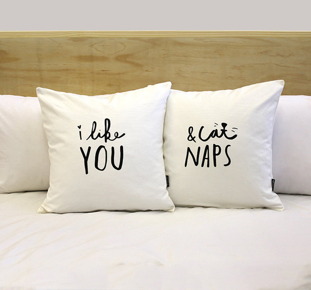 Pillow covers by Zana