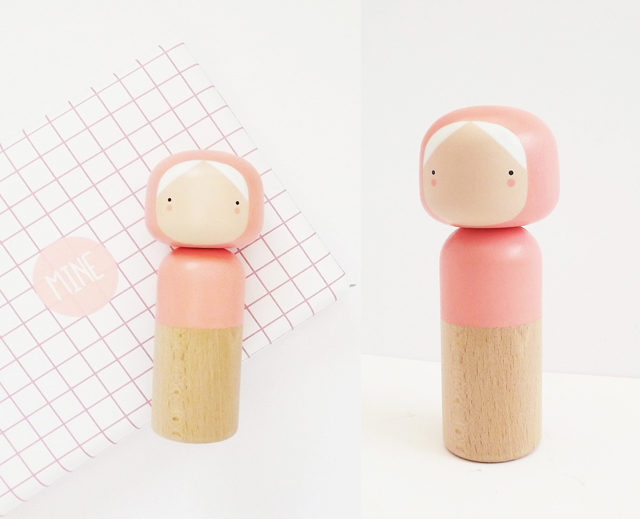 On my wish list: Coral kokeshi doll - Sketch.inc