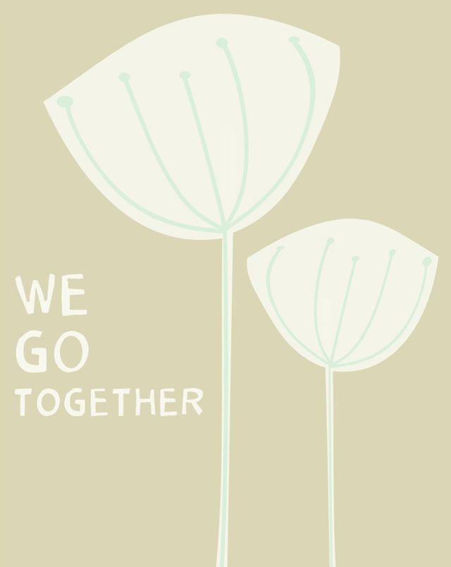 Print We go together -LoveSugar