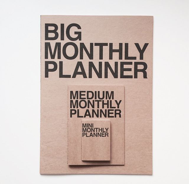 big monthly planner - jstory