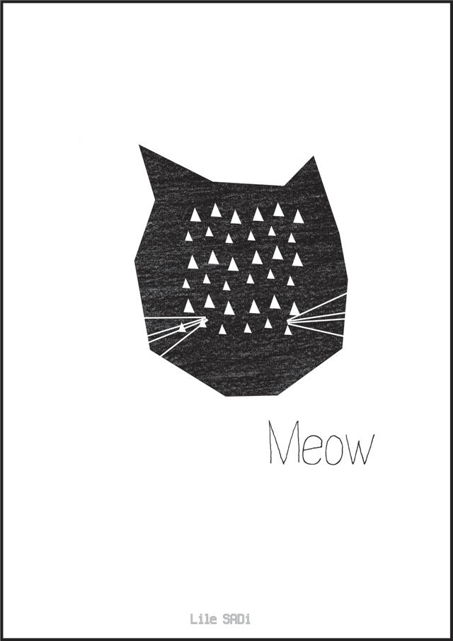 lilesadi-meow-poster
