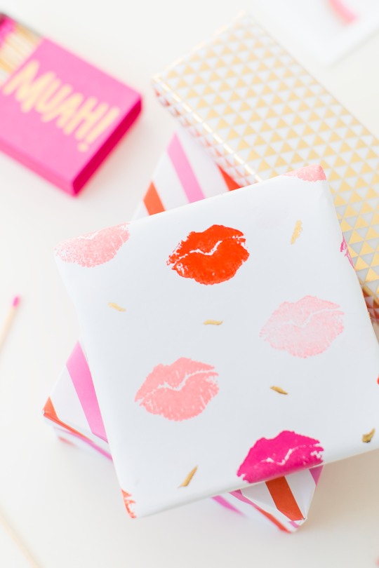 Valentine's wrapping paper