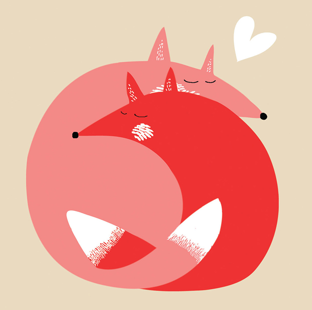 illustration-love-foxes